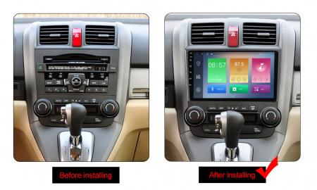 Navigatie Honda CR-V 2006-2011, NAVI-IT, 9 Inch, 4GB RAM 64GB ROM, IPS, DSP, RDS, 4G, Android 10 , WiFi, Bluetooth, Magazin Play, Camera Marsarier [1]