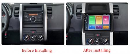 Navigatie Nissan X-Trail 2008-2012, NAVI-IT, 10.1 Inch, 3GB RAM 32GB ROM, IPS, DSP, RDS, 4G, Android 10 , WiFi, Bluetooth, Magazin Play, Camera Marsarier [1]
