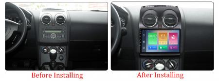 Navigatie Nissan Qashqai 2008-2013, 9 Inch, 1GB RAM 16GB ROM, Android 9.1 , WiFi, Bluetooth, Magazin Play, Camera Marsarier [1]