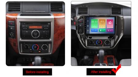 Navigatie Nissan Patrol 2011-2015, NAVI-IT, 9 Inch, 3GB RAM 32GB ROM, IPS, DSP, RDS, 4G, Android 10 , WiFi, Bluetooth, Magazin Play, Camera Marsarier [1]