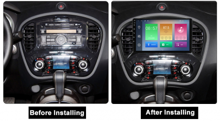 Navigatie Nissan Juke 2010-2014, NAVI-IT, 9 Inch, 4GB RAM 64GB ROM, IPS, DSP, RDS, 4G, Android 10 , WiFi, Bluetooth, Magazin Play, Camera Marsarier [1]