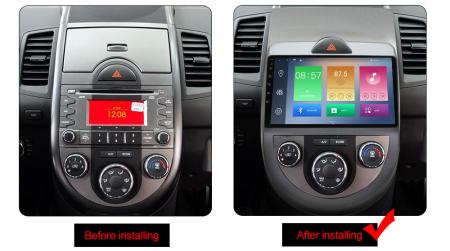 Navigatie Kia Soul 2008-2011, NAVI-IT, 9 Inch, 1GB RAM 16GB ROM, Android 9.1, WiFi, Bluetooth, Magazin Play, Camera Marsarier [1]