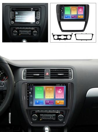 Navigatie Volkswagen Sagitar, Jetta, NAVI-IT, 9 Inch, 4GB RAM 64GB ROM, IPS, DSP, RDS, 4G, Android 10 , WiFi, Bluetooth, Magazin Play, Camera Marsarier [5]