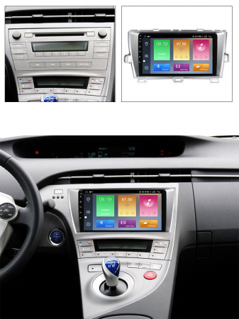 Navigatie Toyota Prius, NAVI-IT, 9 Inch, 1GB RAM 16 GB ROM, Android 9,1, WiFi, Bluetooth, Magazin Play, Camera Marsarier [4]