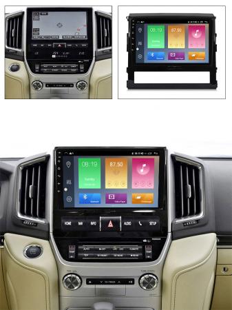 Navigatie Toyota Land Cruiser 2016, NAVI-IT, 9 Inch, 1GB RAM 16GB ROM, Android 9.1 , WiFi, Bluetooth, Magazin Play, Camera Marsarier [3]