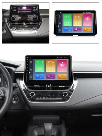 Navigatie Toyota Corolla, Auris (2018-2019), NAVI-IT, 10.2 Inch, 1GB RAM 16GB ROM, Android 9.1 , WiFi, Bluetooth, Magazin Play, Camera Marsarier [3]