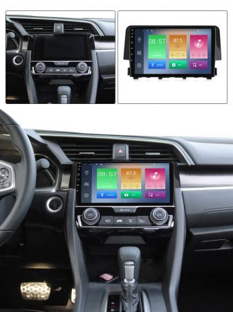 Navigatie Honda Civic 2016-2018, NAVI-IT, 9 Inch, 4GB RAM 64GB ROM, IPS, DSP, RDS, 4G, Android 10 , WiFi, Bluetooth, Magazin Play, Camera Marsarier [4]
