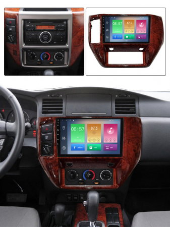 Navigatie Nissan Patrol 2011-2015, NAVI-IT, 9 Inch, 1GB RAM 16GB ROM, Android 9.1, WiFi, Bluetooth, Magazin Play, Camera Marsarier [4]