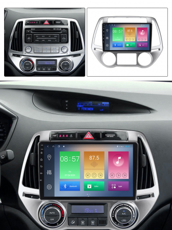 Navigatie Hyundai I20 2012-2014, NAVI-IT, 10 Inch, 1GB RAM 16GB ROM, Android 9.1, WiFi, Bluetooth, Magazin Play, Camera Marsarier [5]