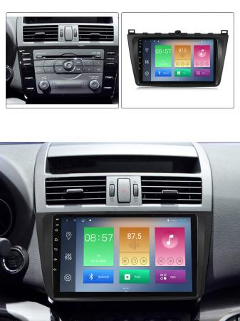 Navigatie Mazda 6 2008-2013, NAVI-IT, 9 Inch, 4GB RAM 64GB ROM, IPS, DSP, RDS, 4G, Android 10 , WiFi, Bluetooth, Magazin Play, Camera Marsarie [4]