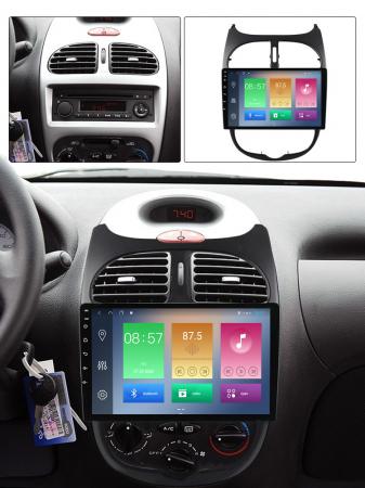 Navigatie Peugeot 206, NAVI-IT, 9 Inch, 2GB RAM 32GB ROM, Android 9.1, WiFi, Bluetooth, Magazin Play, Camera Marsarier [3]