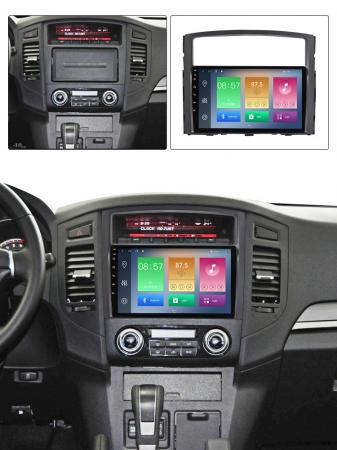 Navigatie Mitsubishi Pajero 2006-2012, NAVI-IT, 9 Inch, 1GB RAM 16GB ROM, Android 9.1, WiFi, Bluetooth, Magazin Play, Camera Marsarier [5]