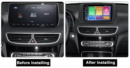 Navigatie Hyundai Tucson 2018-2020, NAVI-IT, 10 Inch, 2GB RAM 32GB ROM, Android 9.1, WiFi, Bluetooth, Magazin Play, Camera Marsarier [1]