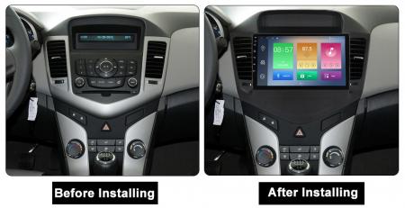 Navigatie Chevrolet Cruze 2009-2014, NAVI-IT, 9 Inch, 1GB RAM 16GB ROM, Android 9.1, WiFi, Bluetooth, Magazin Play, Camera Marsarier [1]