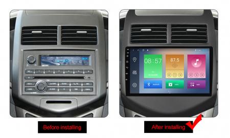 Navigatie Chevrolet Aveo 2010-2015, NAVI-IT, 9 Inch, 1GB RAM 16GB ROM, Android 9.1, WiFi, Bluetooth, Magazin Play, Camera Marsarier [1]