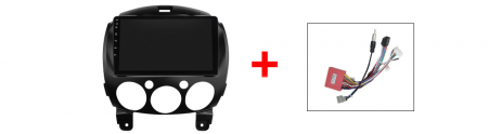 Navigatie Mazda 2 2007-2014, NAVI-IT, 9 Inch, 1GB RAM 16GB ROM, Android 9.1, WiFi, Bluetooth, Magazin Play, Camera Marsarier [2]