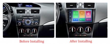 Navigatie Mazda 3 2013-2016, NAVI-IT, 10.25 Inch, 1GB RAM 16GB ROM, Android 9.1, WiFi, Bluetooth, Magazin Play, Camera Marsarier [1]