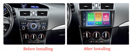 Navigatie Mazda 3 2013-2016, NAVI-IT, 10.25 Inch, 2GB RAM 32GB ROM, Android 9.1, WiFi, Bluetooth, Magazin Play, Camera Marsarier [1]