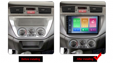 Navigatie Mitsubishi Lancer 2006-2010, NAVI-IT, 9 Inch, 4GB RAM 64GB ROM, IPS, DSP, RDS, 4G, Android 10 , WiFi, Bluetooth, Magazin Play, Camera Marsarier [1]