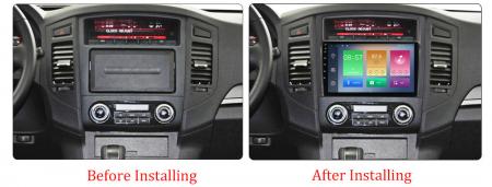 Navigatie Mitsubishi Pajero 2006-2012, NAVI-IT, 9 Inch, 1GB RAM 16GB ROM, Android 9.1, WiFi, Bluetooth, Magazin Play, Camera Marsarier [1]