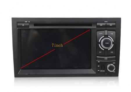 Navigatie auto dedicata Audi A4 (B6, B7) 2002-2008, Android 9 cu DVD + Cadou Card GPS 8Gb6