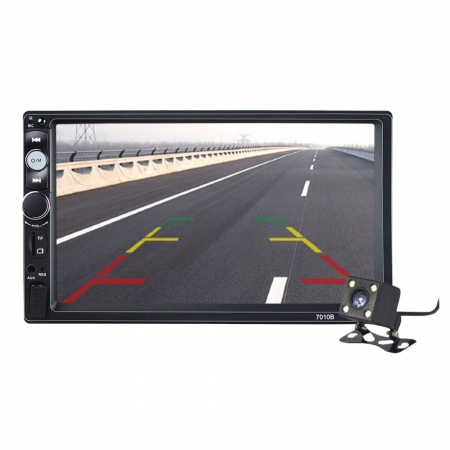 Navigatie auto universala MP5 Player 2DIN, Windows, 7 inch, FM, BT, Mirror-link,rama adaptoare0