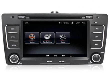 Navigatie NAVI-IT, 2GB RAM 16GB ROM, Skoda Octavia 2, Display 7 Inch, Android 10, IPS, DSP, RDS, WiFi, Bluetooth, Magazin Play2