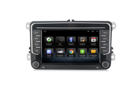 Navigatie NAVI-IT, 1GB RAM 16GB ROM, Model 2021, Volkswagen Golf 5, Passat B6, Jetta, Android 9.1, Display IPS, Functie RDS, Bluetooth, WiFi, Magazin Play, Camera Marsarier [1]