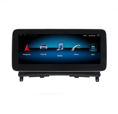 Navigatie Auto Mercedes Benz C Class W204 NTG 4.0, 4G, Display 10.25 Inch, Android 9.1, 4 GB RAM, 64 GB ROM, WiFi, Bluetooth, GPS [2]