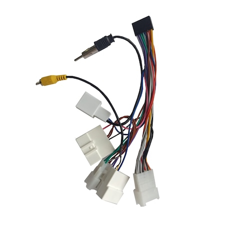 Cablaj adaptor Navi-it, Toyota, mentru modelele MTK,T3, conexiunea se realizeaza intre mufa generala a masinii si navigatia auto0
