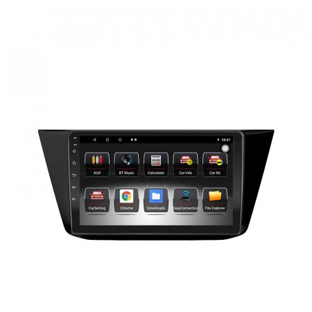 Navigatie Volkswagen Touran 2016, NAVI-IT, 10.1 Inch, 1GB RAM 16 GB ROM, Android 9,1, WiFi, Bluetooth, Magazin Play, Camera Marsarier [0]