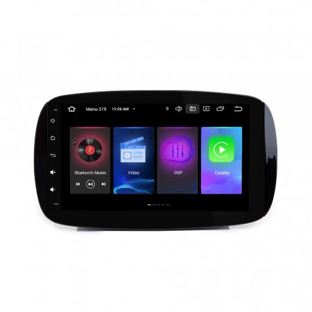 Navigatie NAVI-IT, Smart Fortwo 2016, 9 Inch, 2GB RAM 32 GB ROM, Android 9,1, WiFi, Bluetooth, Magazin Play, Camera Marsarier [0]