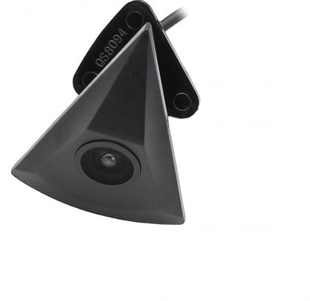Camera vizualizare fata in Emblema Vw, tip triunghi, 12 V, rezistenta la apa, night vision [0]