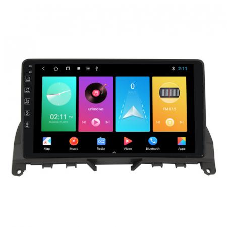 Navigatie NAVI-IT, 1GB RAM 16GB ROM, Mercedes W204, Android 9.1, Display IPS, Functie RDS, Bluetooth, WiFi, Magazin Play, Camera Marsarier [2]