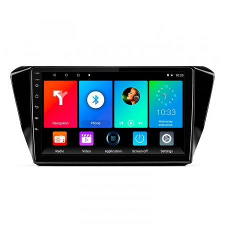 Navigatie Skoda Superb 2016, NAVI-IT, 10.1 Inch, 1GB RAM 16 GB ROM, Android 9,1, WiFi, Bluetooth, Magazin Play, Camera Marsarier [0]
