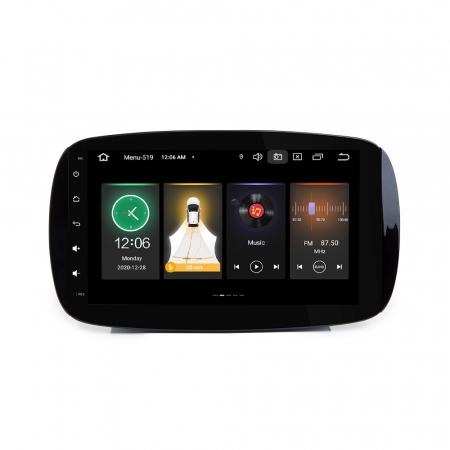 Navigatie NAVI-IT, Smart Fortwo 2016, 9 Inch, 1GB RAM 16 GB ROM, Android 9,1, WiFi, Bluetooth, Magazin Play, Camera Marsarier [1]