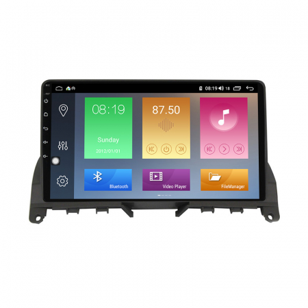 Navigatie NAVI-IT, 1GB RAM 16GB ROM, Mercedes W204, Android 9.1, Display IPS, Functie RDS, Bluetooth, WiFi, Magazin Play, Camera Marsarier [3]