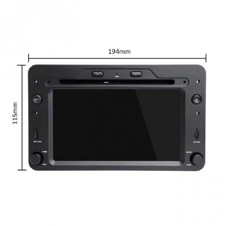 Navigatie NAVI-IT 4GB RAM 64GB ROM dedicata cu Android 9.1, Alfa Romeo 159, Brera, Spider2