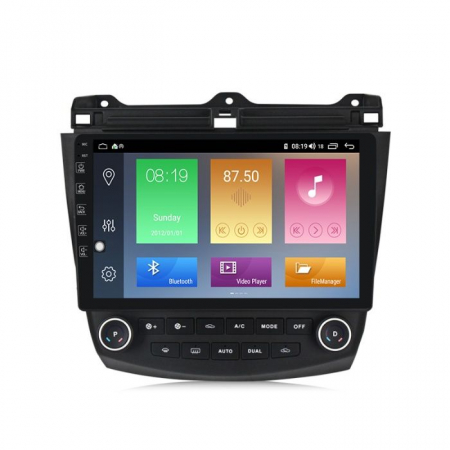 Navigatie NAVI-IT, 1GB RAM 16GB ROM, Android 9.1,HONDA ACCORD VII 2003 - 2008 GPS WAZE 9 inch [4]