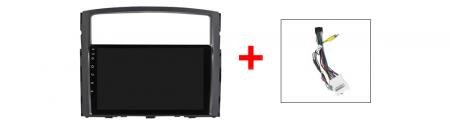 Navigatie Mitsubishi Pajero 2006-2012, NAVI-IT, 9 Inch, 1GB RAM 16GB ROM, Android 9.1, WiFi, Bluetooth, Magazin Play, Camera Marsarier [2]