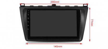 Navigatie Mazda 6 2008-2013, NAVI-IT, 9 Inch, 4GB RAM 64GB ROM, IPS, DSP, RDS, 4G, Android 10 , WiFi, Bluetooth, Magazin Play, Camera Marsarie [3]