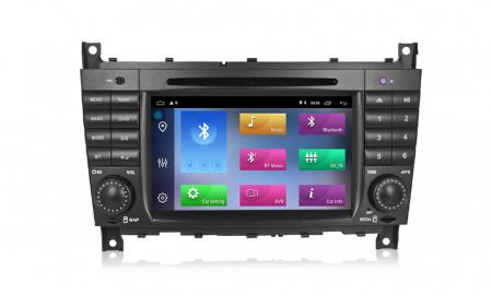 Navigatie NAVI-IT 1 GB RAM + 16 GB ROM Mercedes C Class W203 , CLK W209 , Android 9.1 , Internet, Aplicatii , Waze , Wi Fi , Usb , Bluetooth , Mirrorlink [2]