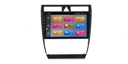 Navigatie Audi A6 1997-2004 Android 10, Display 9inch Full Touch, WiFi, Bluetooth, Waze, GPS, 1GB RAM 16GB ROM, microfon extern si camera marsarier1