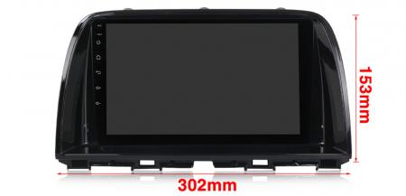 Navigatie Mazda CX5 2012-2017, NAVI-IT, 9 Inch, 4GB RAM 64GB ROM, IPS, DSP, RDS, 4G, Android 10 , WiFi, Bluetooth, Magazin Play, Camera Marsarie [3]