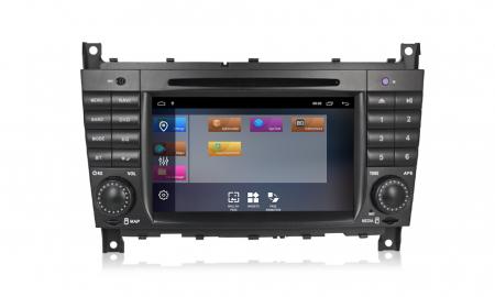 Navigatie NAVI-IT 1 GB RAM + 16 GB ROM Mercedes C Class W203 , CLK W209 , Android 9.1 , Internet, Aplicatii , Waze , Wi Fi , Usb , Bluetooth , Mirrorlink [3]