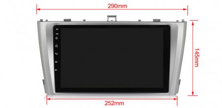 Navigatie Toyota Avensis 2011-2015, NAVI-IT, 9 Inch, 2GB RAM 32GB ROM, Android 9.1 , WiFi, Bluetooth, Magazin Play, Camera Marsarier [2]