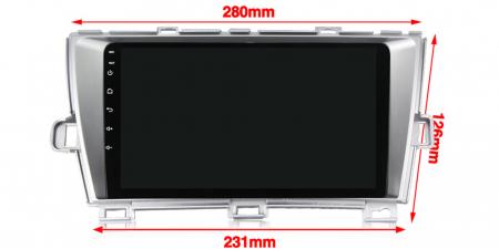 Navigatie Toyota Prius, NAVI-IT, 9 Inch, 1GB RAM 16 GB ROM, Android 9,1, WiFi, Bluetooth, Magazin Play, Camera Marsarier [2]