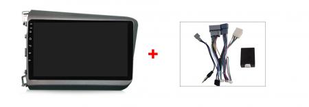 Navigatie Honda Civic 2012-2015, NAVI-IT, 9 Inch, 1GB RAM 16GB ROM, Android 9.1 , WiFi, Bluetooth, Magazin Play, Camera Marsarier [2]