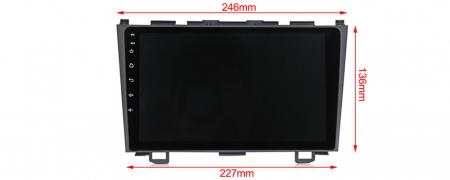 Navigatie Honda CR-V 2006-2011, NAVI-IT, 9 Inch, 2GB RAM 32GB ROM, Android 9.1 , WiFi, Bluetooth, Magazin Play, Camera Marsarier [2]
