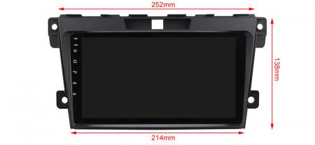 Navigatie Mazda CX7 2008-2015, NAVI-IT, 9 Inch, 4GB RAM 64GB ROM, IPS, DSP, RDS, 4G, Android 10 , WiFi, Bluetooth, Magazin Play, Camera Marsarie [2]